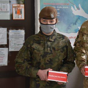 szer. Karolina Orpelz 7 Pomorskiej Brygady Obrony Terytorialnej / fot. 7PBOT